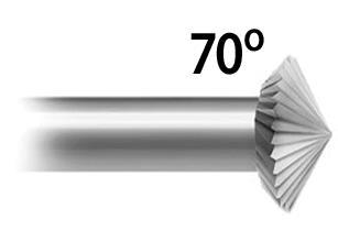 Bearing Cutter 70° Stone Setting (A*F 119.257S)