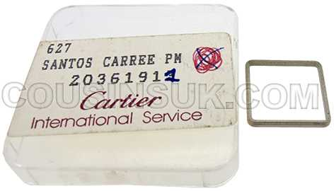 20361911 Santos Carree, PM (15.6mm SQ)