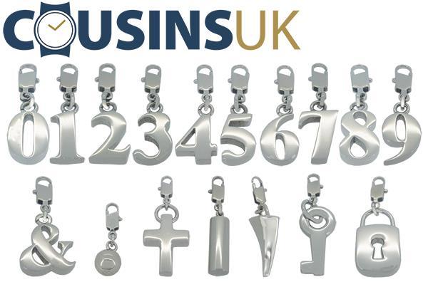 Bracelet Stainless Steel Symbols & Numbers