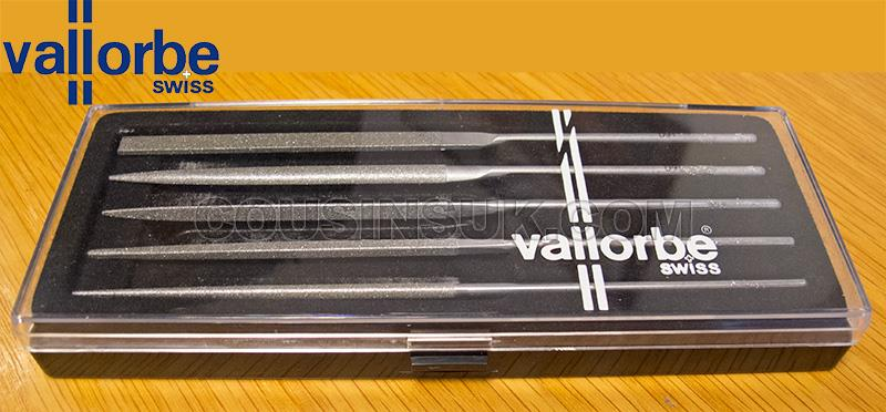 Vallorbe Swiss Diamond Needle Files, Classic