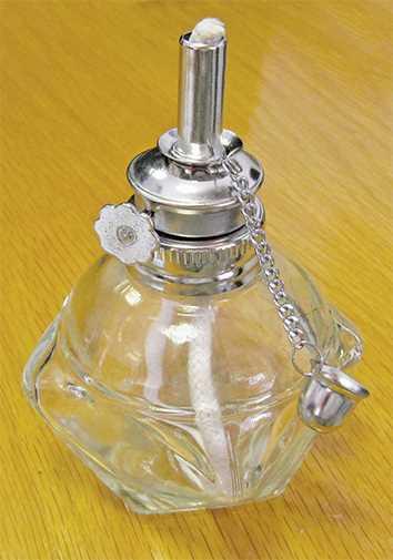 Alcohol Lamp & Wick