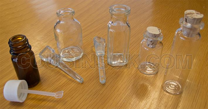 Acid & Fluid Glass Bottles