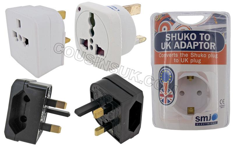 Adaptor Plug (Euro to UK)