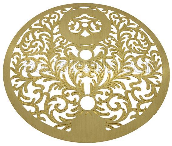 Mask Ø140mm (Brass Colour)
