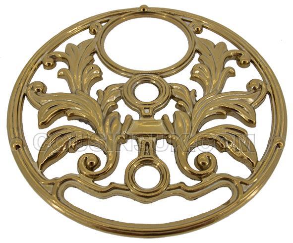 Mask Ø130mm (Brass Colour)