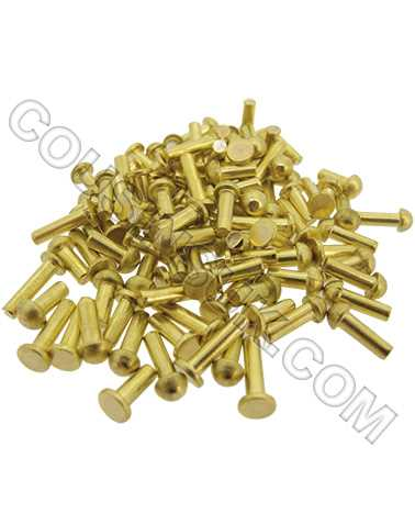 Clock Rivet Assortment, Brass