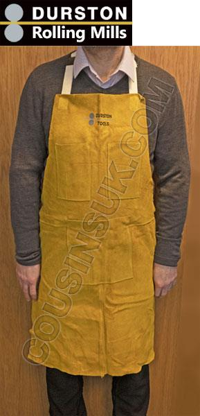 Suede Leather Apron (Durston), 890 x 585mm