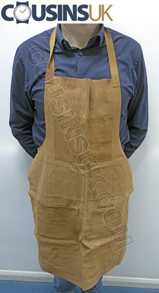 Suede Leather Apron (Cousins), 860 x 600mm