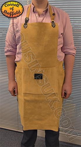 Suede Leather Apron (Connell of Sheffield), 965 x 610mm