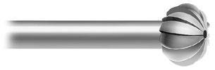 Oval (A*F 119.284) Coarse Serrations