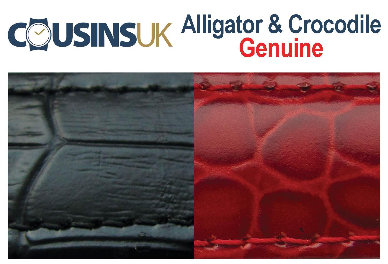 Alligator & Crocodile, Genuine