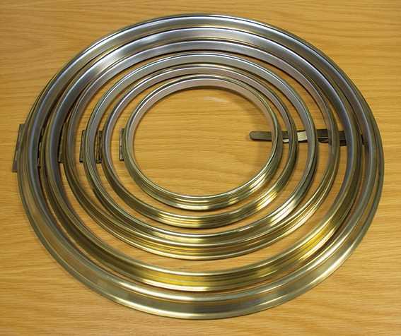 Brass (Spun) Bezels with Ring