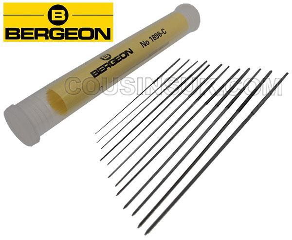 Ø0.33 to 1.04mm Cutting Broaches, Bergeon 1896C