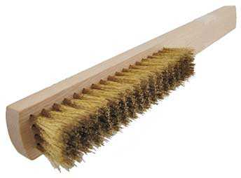 4 Row Brass Brush, German