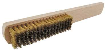 6 Row Brass Brush, UK