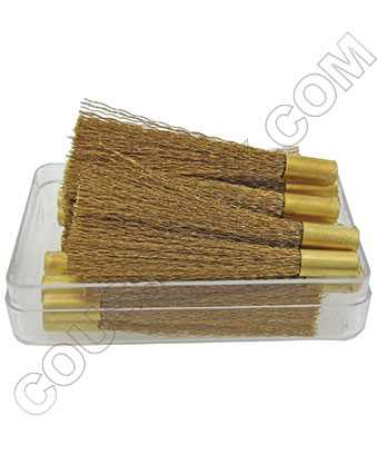 Brass Scratch Brush Refills, German