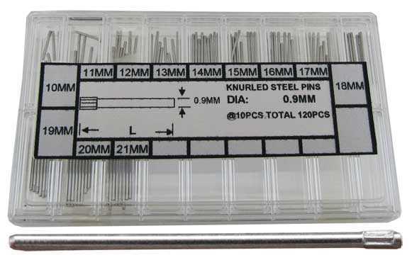 Ø0.90mm Knurled Pins