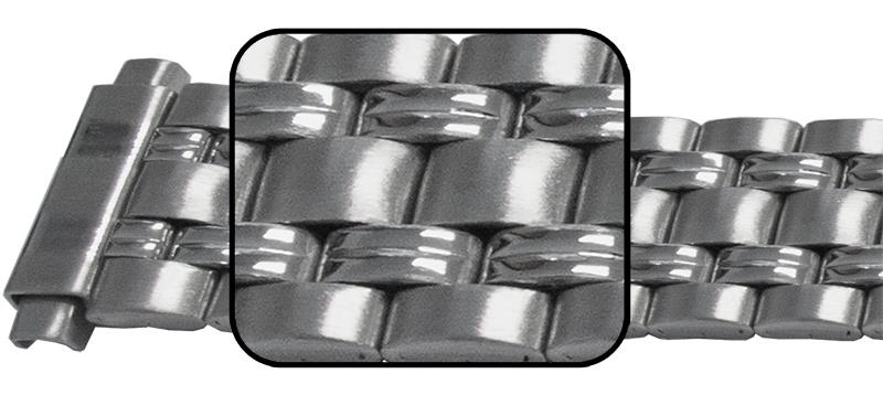 13 to 16mm (13.5x12) Row 2,4 Mirror, SS