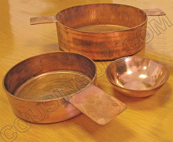 Copper Bowls & Pans