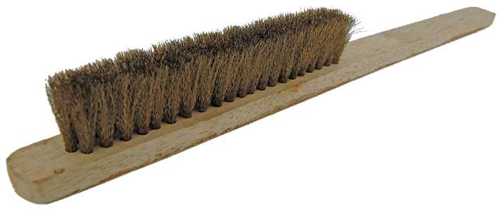3 Row Brass Brush, Indian