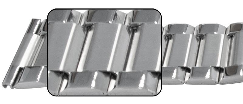 26mm (26x22) Row 1,3 Mirror, SS
