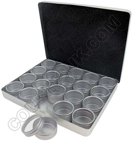 20 Round Compartments, 165 x 135 x 20mm