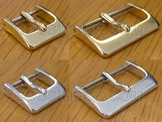 Buckles, Style 6 (Lightweight Aluminium), 6 to 36mm