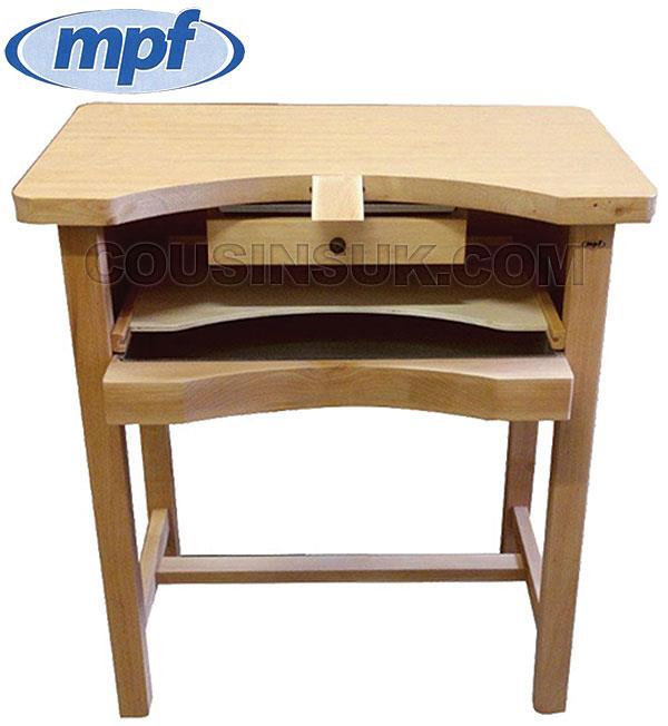 Jewellers Bench, Italian with Wooden Top (Free Delivery)