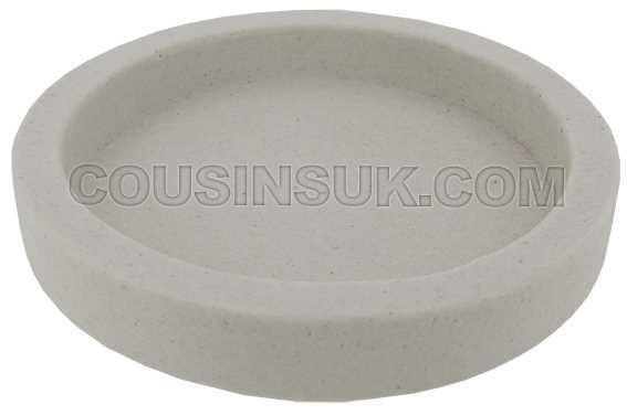 Ø100 x 15mm Borax Dish, Non Glazed