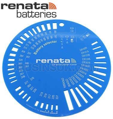 Circular Battery Selector