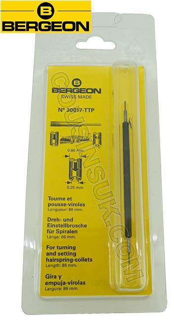 Ø0.25mm (Ø0.80mm) Hairspring Collet Tool