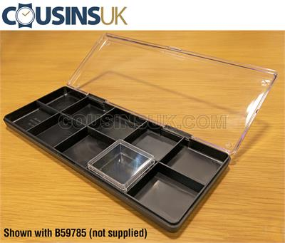 10 Compartment Plastic Box