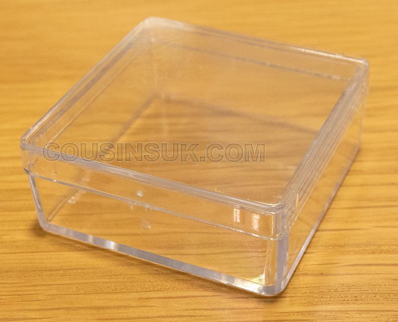 48 x 48 x 20mm Box (Removable Lid), Swiss Made