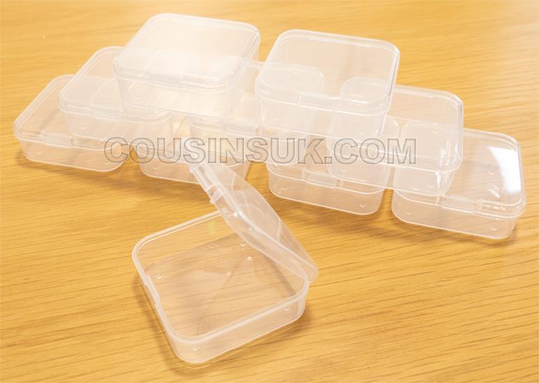 55 x 55 x 20mm Box (Hinged Lid)