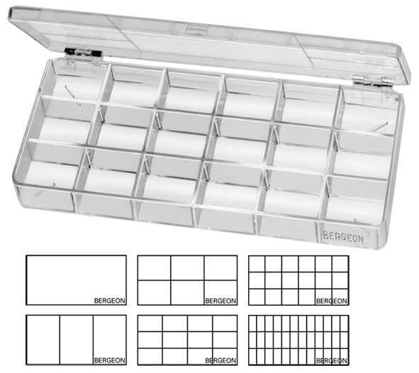 Compartment Boxes with Divides, Bergeon