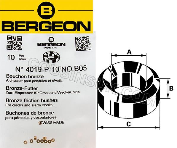 Bergeon 4019, Bronze (10 Packs)