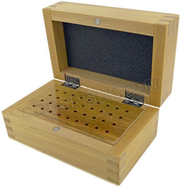 Burr Box, 36 Hole