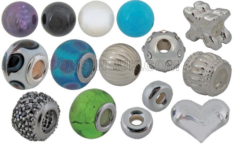 Beads, Balls (Including Pandora Style) & Head Pins