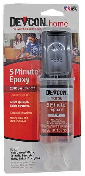 Rapid (5 Minutes) Devcon, Syringe