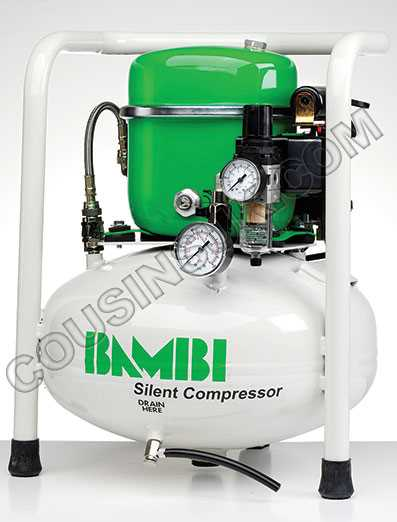 Bambi BB15V Compressor *Free delivery to UK mainland*