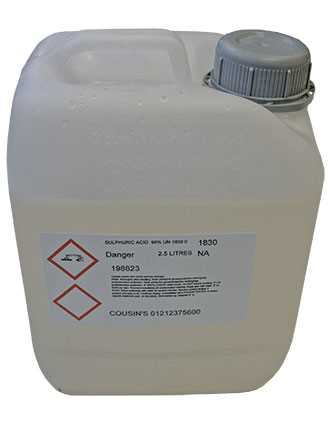 Sulphuric Acid - Collection Only*