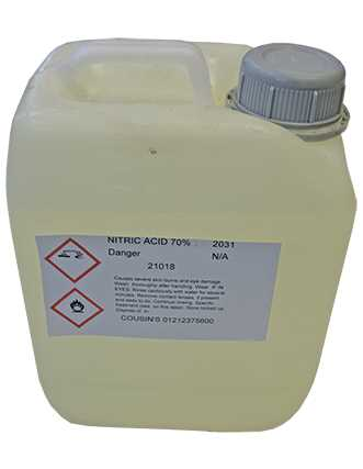 Nitric Acid 2.5 Litres -  *Collection Only