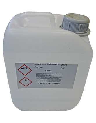 Ammonia 2.5 Litres - *Collection Only