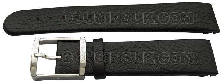 20mm Calvin Klein Black Calf