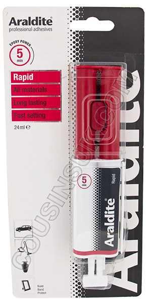 Rapid (5 Minutes) Araldite, Syringe