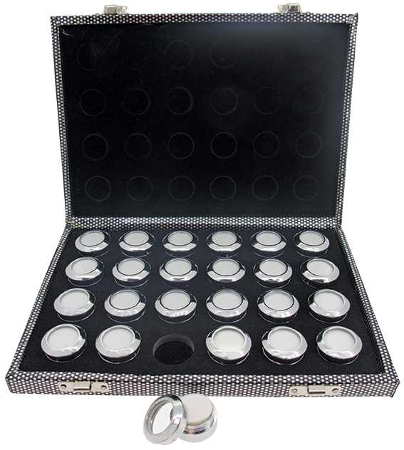 Case with 24 Boxes (Ø30mm)