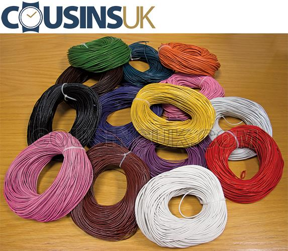 Leather Cord, Colours
