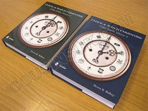 Clock and Watch Companies 1700's-2000's