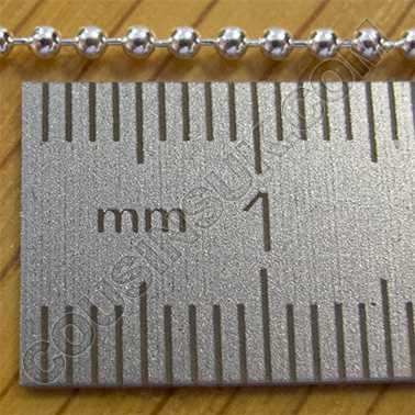 "(3) Ø1.5mm, 16"" (40cm, 2.7g) Bead"
