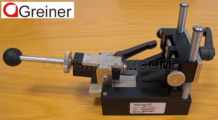 Bench Top Case Opener, Greiner